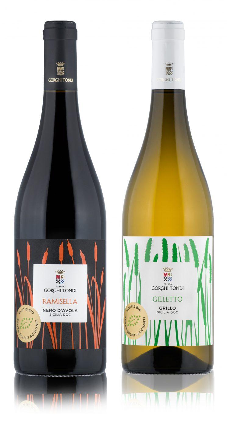 Bottiglie di Ramisella e Gilletto