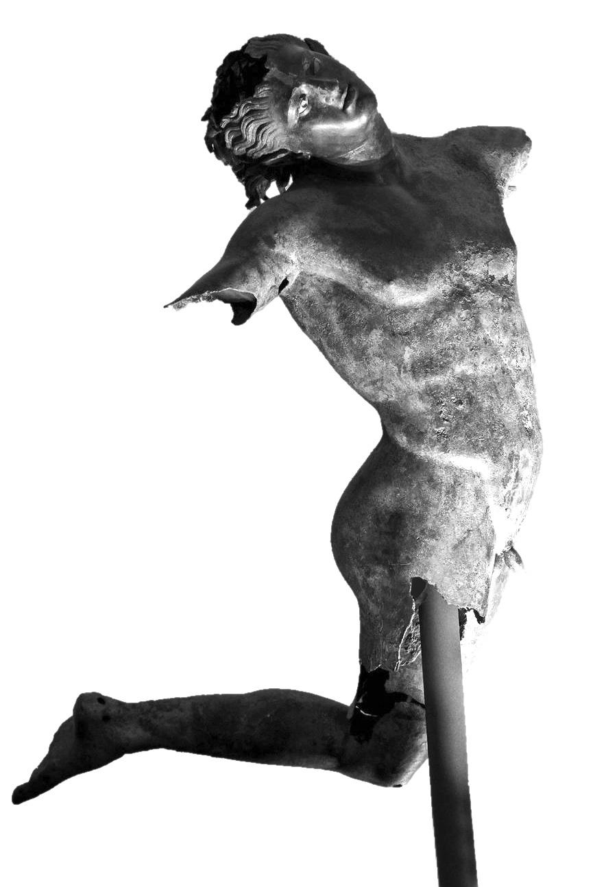 La statua del Satiro Danzante